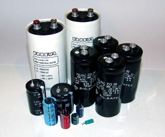 gepolter kondensator laden entladen